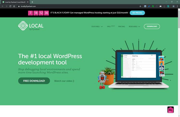 localのサイトの画像