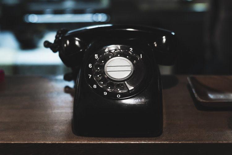 電話の写真