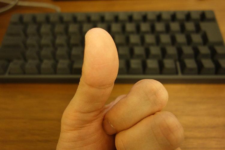 親指の写真