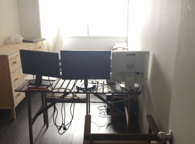 自宅事務所のイメージ