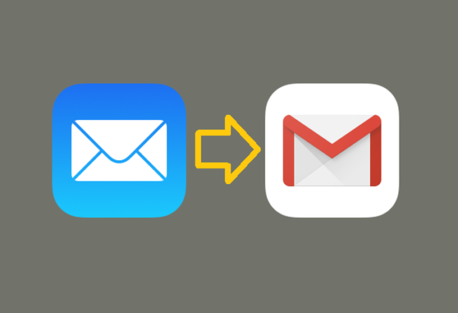 iCloudメールからGmailへ