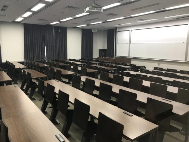 研修会場の写真