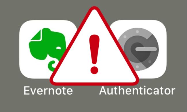 EvernoteとAuthenticator